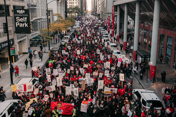 Instructor「Chicago Teachers Hold Major Rally In Downtown Chicago As Strike Continues」:写真・画像(4)[壁紙.com]
