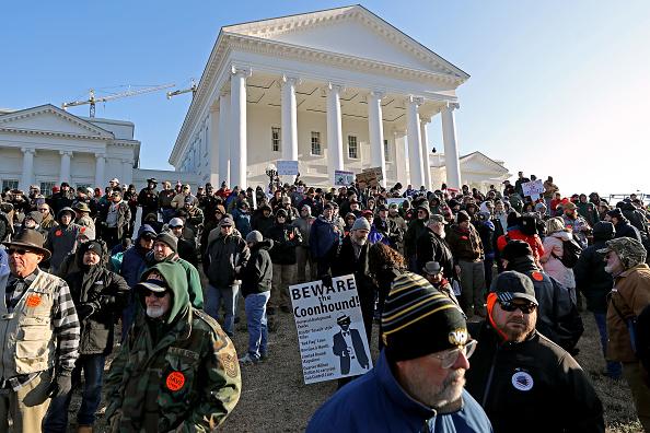 Virginia - US State「Gun Rights Advocates From Across U.S. Rally In Virginia's Capital Against Gun Control Legislation」:写真・画像(3)[壁紙.com]