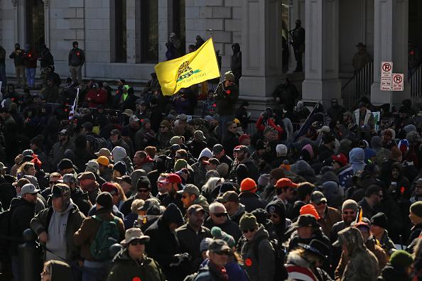 Virginia - US State「Gun Rights Advocates From Across U.S. Rally In Virginia's Capital Against Gun Control Legislation」:写真・画像(5)[壁紙.com]