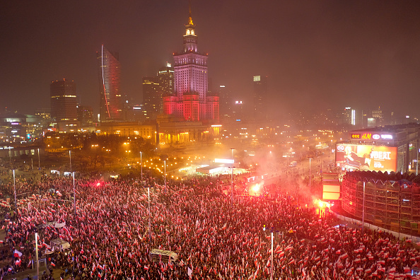 Anniversary「Poland Marks 100th Anniversary Of Independence」:写真・画像(12)[壁紙.com]
