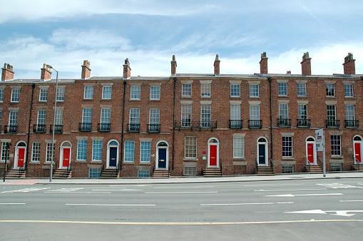 Row House「Typical british houses」:スマホ壁紙(9)