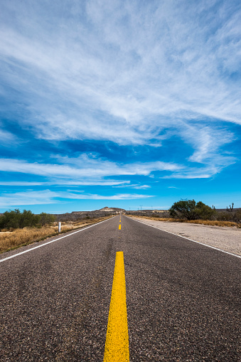 Baja California Peninsula「Road in the desert」:スマホ壁紙(18)