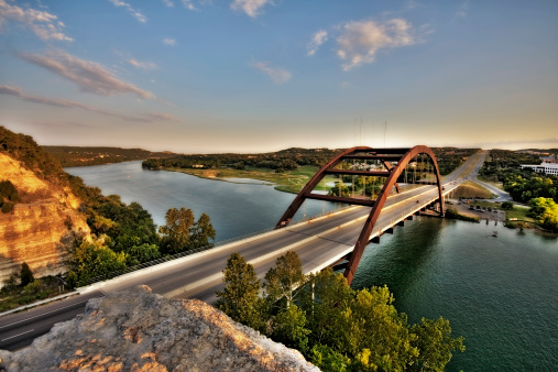 Texas「Austin, Texas 360 Bridge」:スマホ壁紙(13)