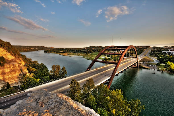 Austin, Texas 360 Bridge:スマホ壁紙(壁紙.com)