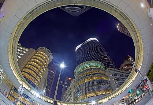 Postmodern「Postmodern skyscraper in Downtown Houston」:スマホ壁紙(18)