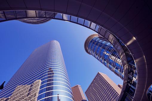 Postmodern「Postmodern skyscrapers at 1400 Smith Street, Houston」:スマホ壁紙(6)