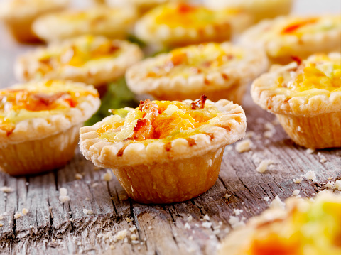 Rack「Mini Quiche with Bacon and Cheddar Cheese」:スマホ壁紙(7)