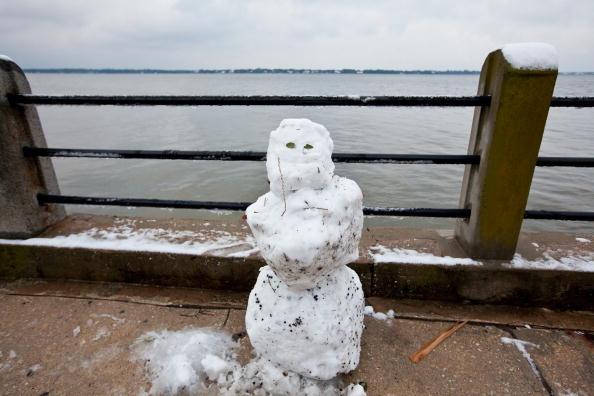 雪だるま「Winter Storm Hits South Carolina」:写真・画像(3)[壁紙.com]