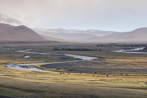 Orkhon Valley「The Orkhon Valley natural and Historical Reserve in Mongolia.」:スマホ壁紙(4)