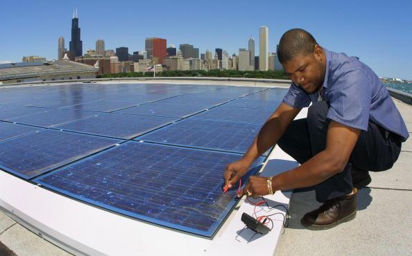 Engineering「Solar Electric System in Chicago」:写真・画像(5)[壁紙.com]