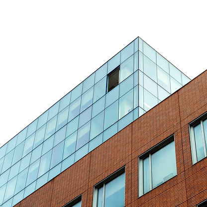 Glass Factory「Window removed for replacement on a high floor of the office building in Harlem, New York City」:スマホ壁紙(14)