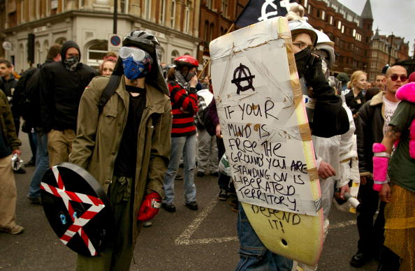 Makeshift「May Day Anti-Capitalist Protest in London」:写真・画像(11)[壁紙.com]
