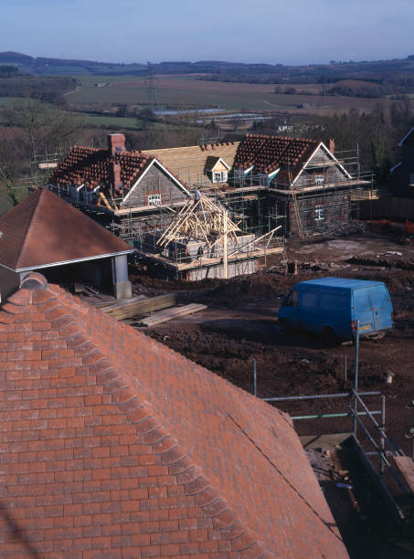 Cardiff, Cefn Mably. Luxury housing development in 12 acres of parkland by regional developer Meadgate Homes overlooking countryside.:ニュース(壁紙.com)