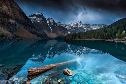 深い雪「Lake Louise, Banff, Alberta, Canada」:スマホ壁紙(16)