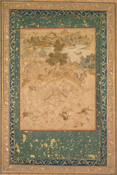 Guidance「Akbar Supervising The Capture Of Wild Elephants At Malwa In 1564」:写真・画像(11)[壁紙.com]