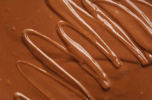 Milk Chocolate「Abstract squiggle pattern in molten milk chocolate.」:スマホ壁紙(4)