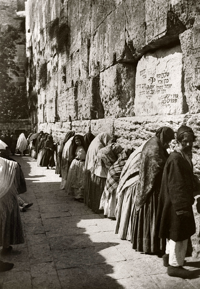 Wailing Wall「Early Zionist Pioneers Settle The Holy Land」:写真・画像(7)[壁紙.com]