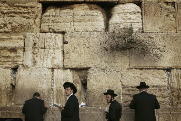 Wailing Wall「Prayers Held Before Sabbath In Jerusalem」:写真・画像(3)[壁紙.com]