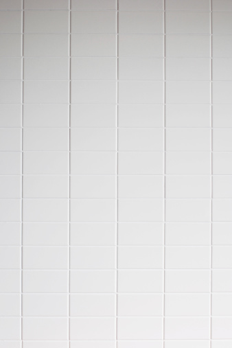 Tile「White tile wall texture background」:スマホ壁紙(5)