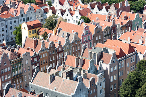UNESCO「Roofs of the old hanseatic tenement houses in Gdansk's Old Town, Poland」:スマホ壁紙(19)