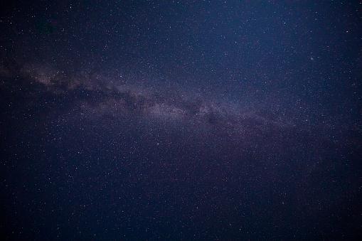 星空「美しい天の川の背景」:スマホ壁紙(17)