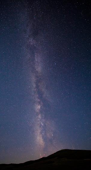 星空「美しい天の川の背景」:スマホ壁紙(14)