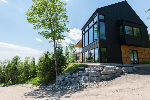 Villa「Beautiful modern house in the forest.」:スマホ壁紙(4)