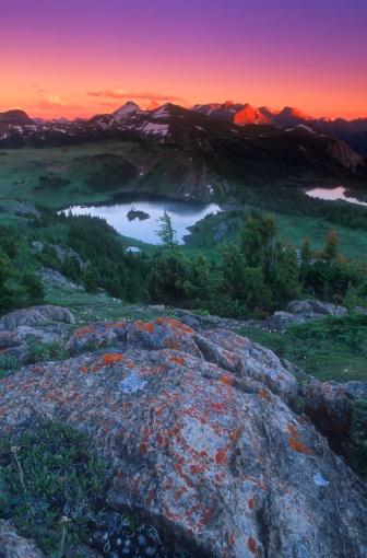 Mt Assiniboine「Beautiful mountainous scenery」:スマホ壁紙(16)