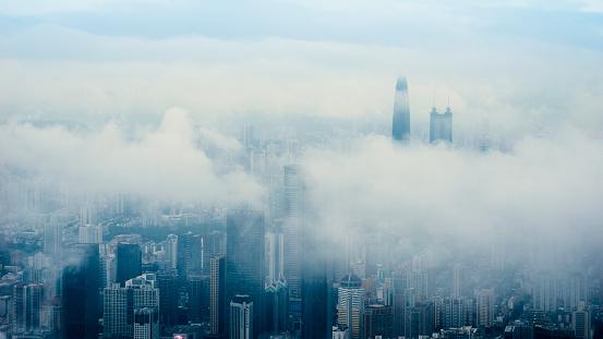 Fog「China shenzhen Skyscraper」:スマホ壁紙(3)