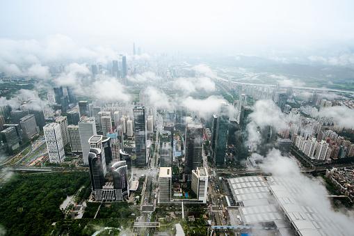 Fog「China shenzhen Skyscraper」:スマホ壁紙(2)