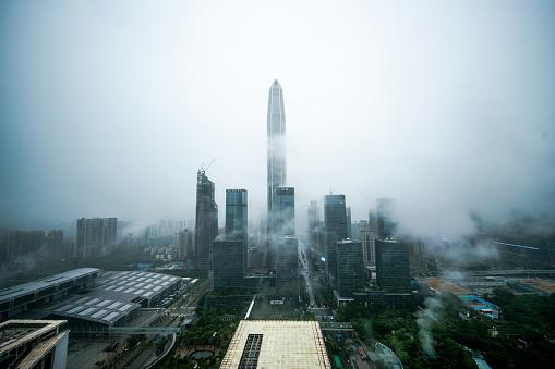 Fog「China shenzhen Skyscraper」:スマホ壁紙(1)