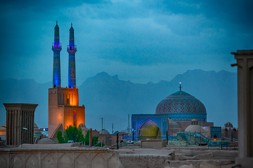 Iranian Culture「Jame (or Friday) Mosque, Yazd, Iran」:スマホ壁紙(10)