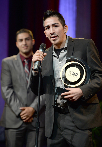 Leo Santa Cruz「The '2013 Latinos de Hoy Awards' At Los Angeles Times Chandler Auditorium」:写真・画像(7)[壁紙.com]