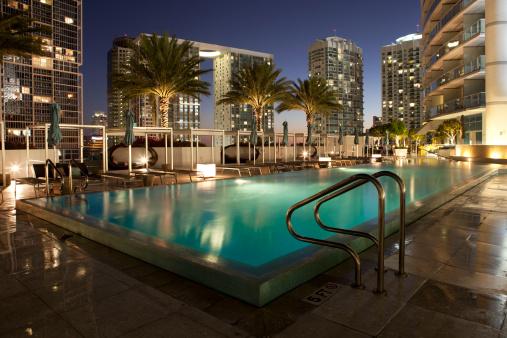 Miami「Miami Infinity Pool at Epic Hotel」:スマホ壁紙(11)