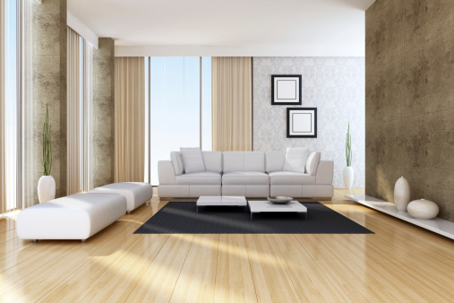 Home Interior「Modern Penthouse Interior」:スマホ壁紙(0)