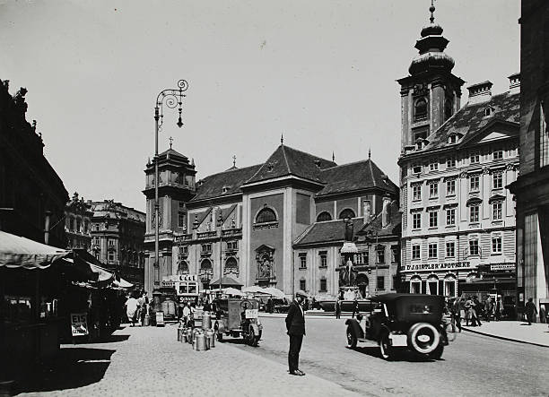 Vienna 1St District. View To The Freyung. About 1935. Photograph By Martin Gerlach.:ニュース(壁紙.com)
