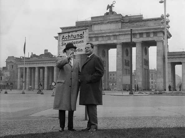 International Landmark「Willy Brandt And Hubert Humphrey」:写真・画像(18)[壁紙.com]