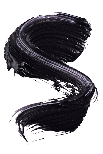 Letter S「A cut out beauty product shot of black mascara」:スマホ壁紙(10)