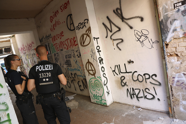 Graffiti「Rigaer Strasse Becomes Focus Of Gentrification Dispute」:写真・画像(16)[壁紙.com]
