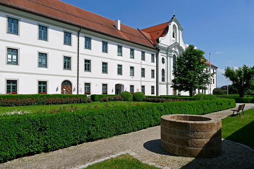 Benedictine「Benedictine monastery Rott Abbey, Rott am Inn」:スマホ壁紙(8)