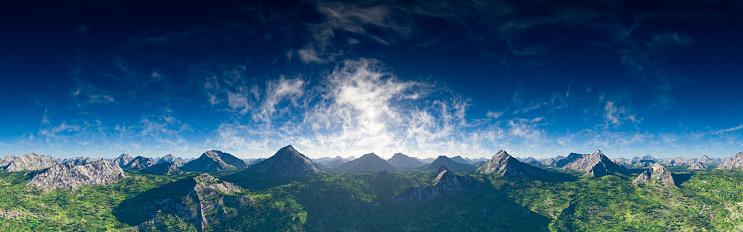 峰「高峰のパノラマ」:スマホ壁紙(0)