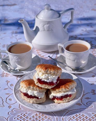 Teapot「Cornish Cream Tea」:スマホ壁紙(17)