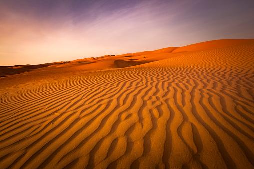 Rippled「wave pattern desert landscape of sultanate of oman」:スマホ壁紙(3)