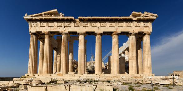 UNESCO「Athens Acropolis Parthenon perspective correct」:スマホ壁紙(15)