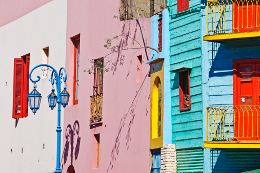 Buenos Aires「Caminito, La Boca, Buenos Aires, Argentina」:スマホ壁紙(8)
