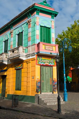 Buenos Aires「Caminito - La Boca - Buenos Aires」:スマホ壁紙(5)