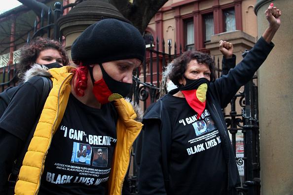 Lisa Maree Williams「Black Lives Matter Activists Attend Unauthorised Rally In Sydney」:写真・画像(17)[壁紙.com]