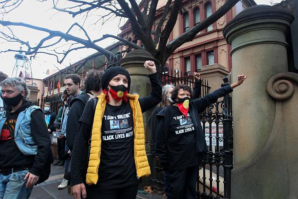 Lisa Maree Williams「Black Lives Matter Activists Attend Unauthorised Rally In Sydney」:写真・画像(9)[壁紙.com]