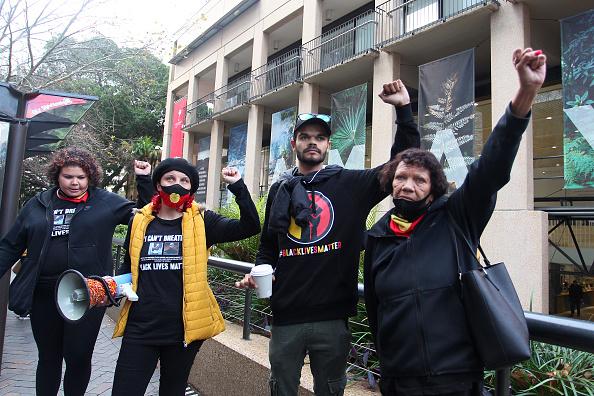 Lisa Maree Williams「Black Lives Matter Activists Attend Unauthorised Rally In Sydney」:写真・画像(18)[壁紙.com]