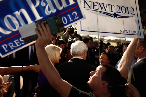 Eddie House「Gingrich Campaigns On Florida's Primary Day」:写真・画像(1)[壁紙.com]